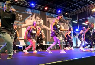 FIBO Köln 2018 - Global Fitness - Fit&Funky™ - Stage performance