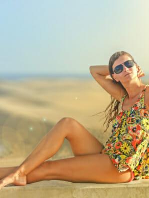 Die Wirkung der Sonne auf deinen Körper!
