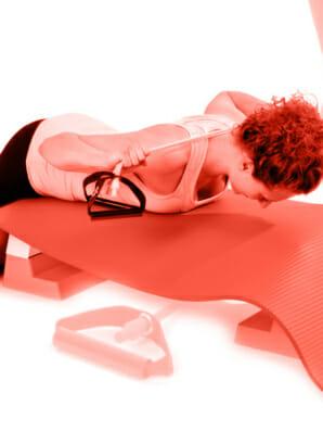 Trainingsband Übungen und Variationen