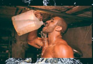 Bei Hitze solltest du viel trinken