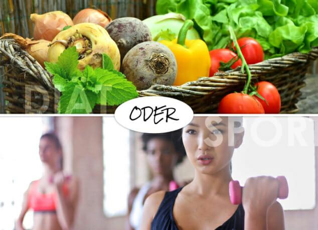 Diät oder Sport: Was hilft wirklich beim Abnehmen?
