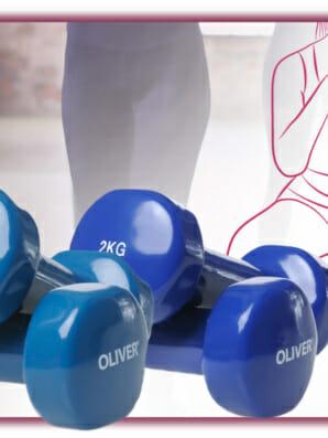 Hantel Workout mit dem Schwerpunkt Beine