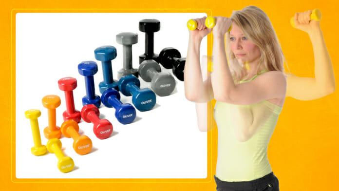 Kurzhantel Workout für zuhause