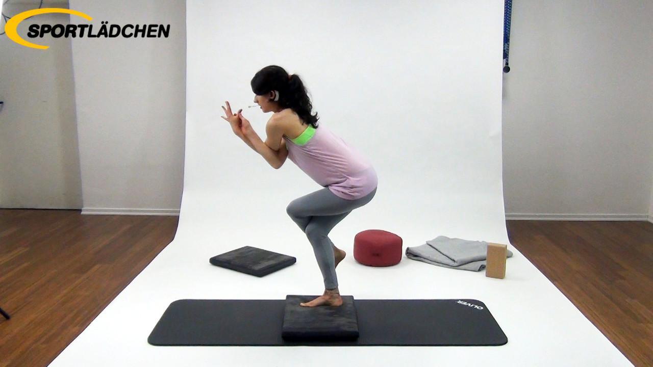 Yoga im Stehen für Fortgeschrittene 3 Adler
