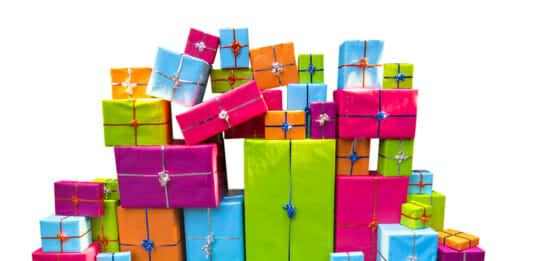 Geschenkverpackungen zum Thema: Die besten Fitness Geschenke