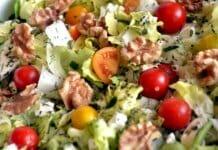 Bunter gemischter Salat ein ideales Lebensmittel für die basische Ernähruing