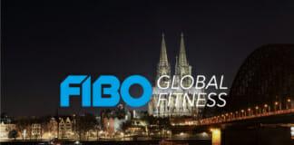 Fibo Köln 2019 Logo mit Kölner Dom im Hintergrund