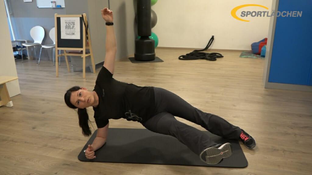 Side Plank Seitstuetz Variation 5a