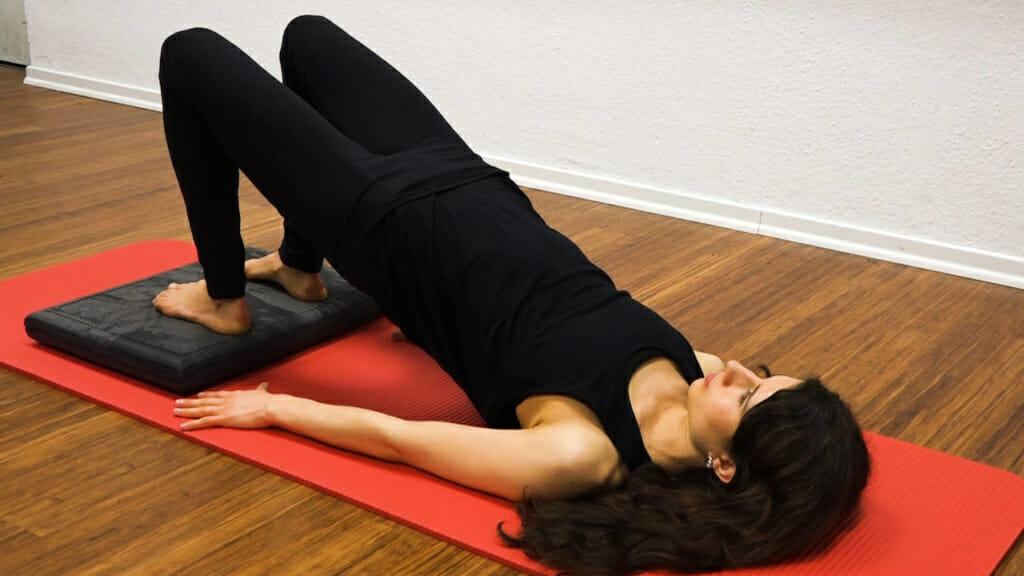 Po Training mit Balance Pad beidbeinig 2