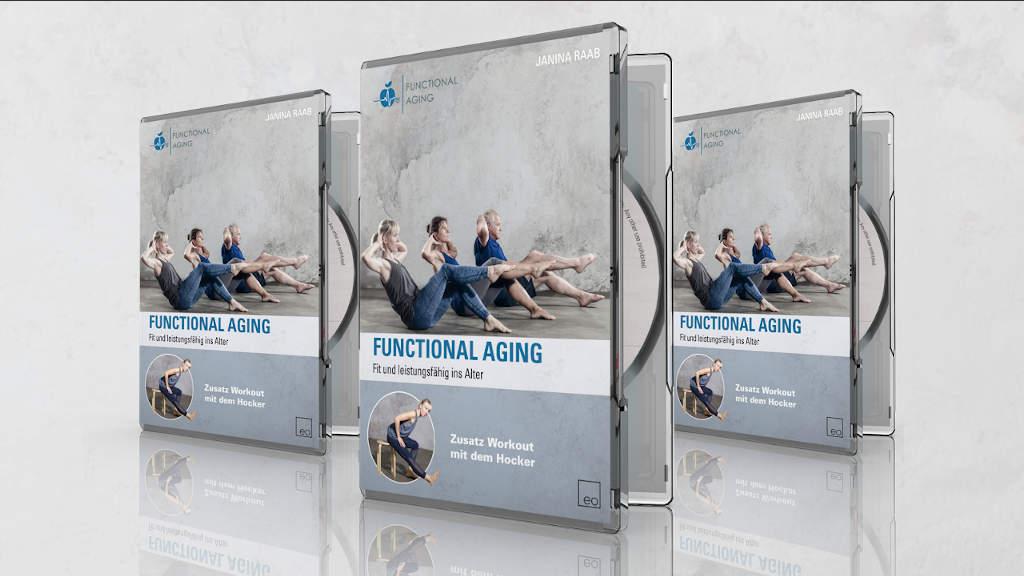 3 Exemplare der DVD Functional Aging