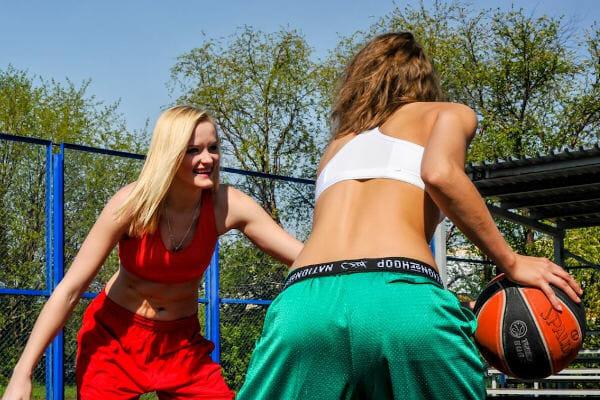gesunde aktive Frauen