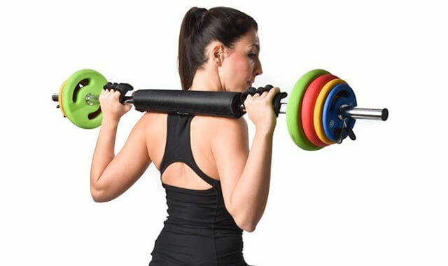 Fitnesstraining Langhantel