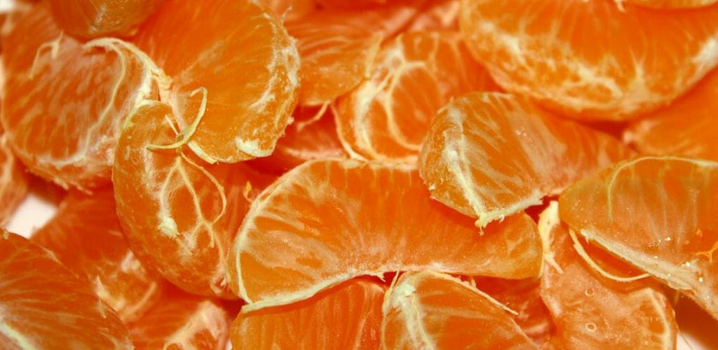 mandarinenstuecke